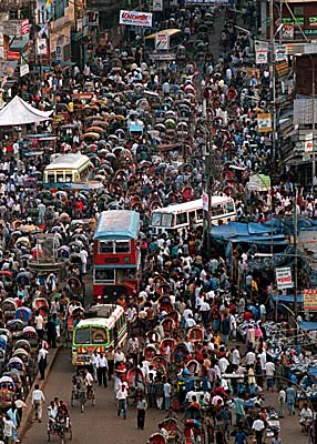 Fears of overpopulation are growing