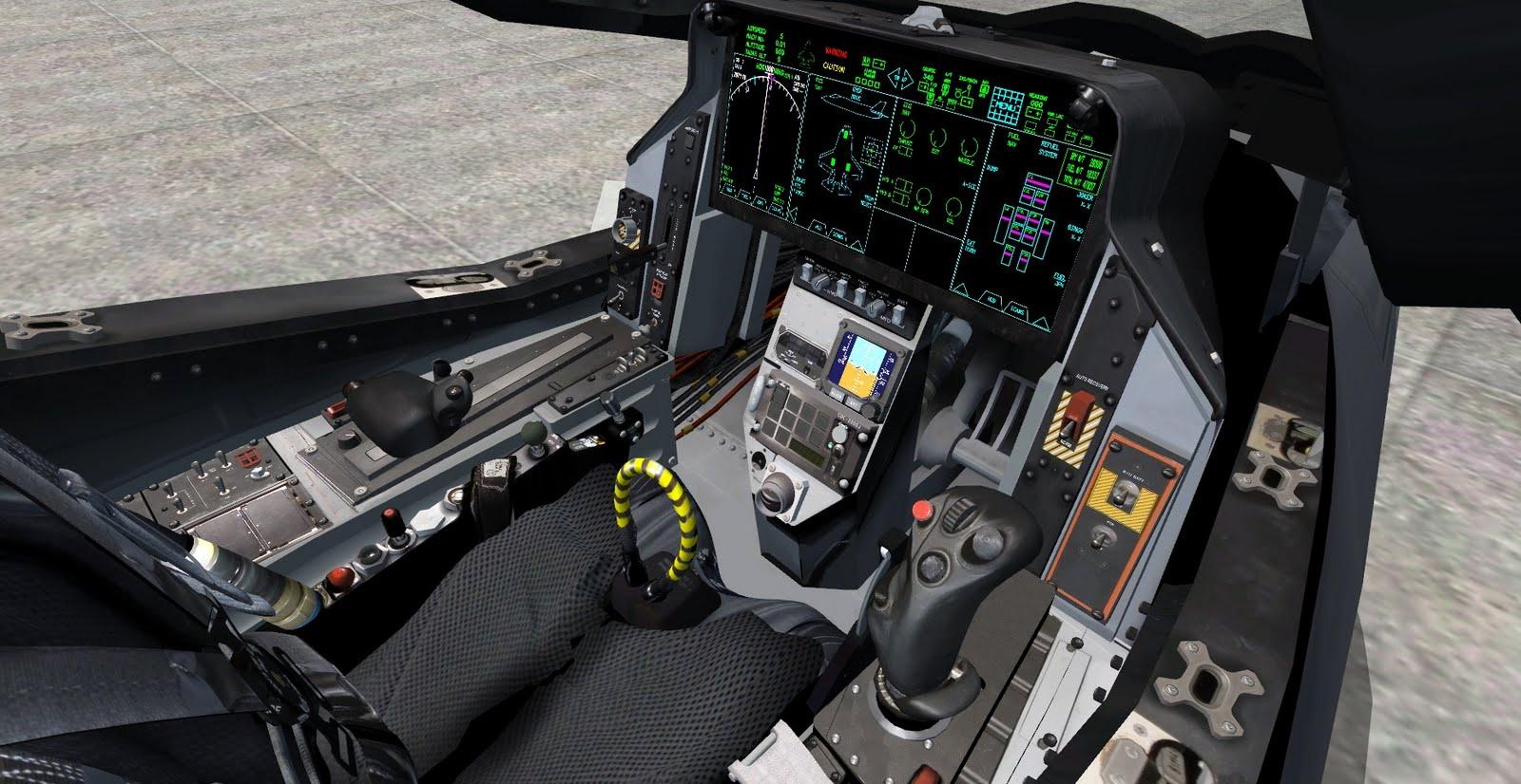 Lockheed Martin F35 Lightning II Stealth Fighter Cockpit Demonstrator HandsOn